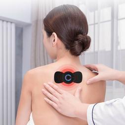 1 Pc Neck Massager Plastic Black Wireless Muscle Stimulator