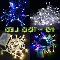 Perfect Holiday 10-100 LED 1M-10M Battery Operated String Li