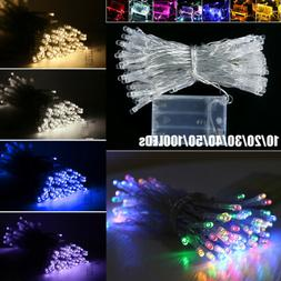 10/20/30/40/50/100 LED Battery Operated Fairy String Lights