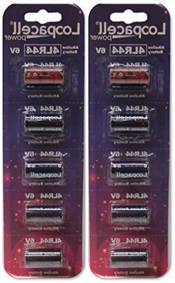 10 4LR44 / PX28A / L1325 / A544 / K28A / 476A 6V Alkaline Ba