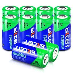10 CR123A Lithium Photo Batteries 123A PL123A EL123A 3V For