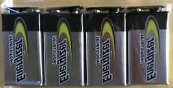 10 Energizer Industrial 9 Volt  Alkaline Batteries