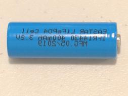 10 pc 14430 3.2v LiFePO4 RECHARGEABLE BATTERY 400mAh solar l