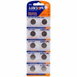 10 Pieces AG 13 LR44 G13 A76 1.5 volt Button Cell Battery 1