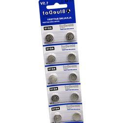 10 Pk LR1130 389 AG10 Alkaline Battery 1.5V Watch Calculator