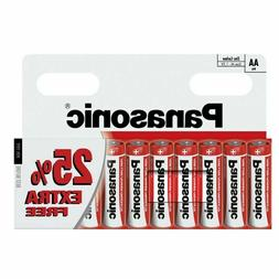 10 x AA Panasonic Zinc Carbon Batteries LR03 1.5V R6
