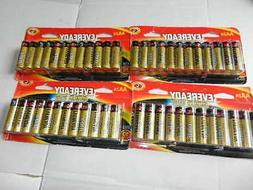 100 - 4 = 96 new Eveready gold Alkaline AA Batteries aa24 ex