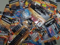 100 AAA BATTERIES Mixed ENERGIZER & National Brands Ex 2025-