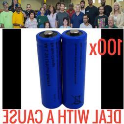 100 NEW GREAT POWER LITHIUM AA BATTERIES 1.5V BULK WHOLESALE