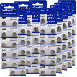 100 PCS LR1130 AG10 389 Alkaline Battery 1.5V Watch Calculat