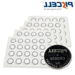 100x CR2032 ERC2032 3V Lithium Coin Battery Button Cell DL20