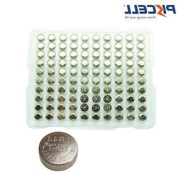 100x LR44 AG13 SR44 A76 357 303 LR44G 1.5V Alkaline Button C