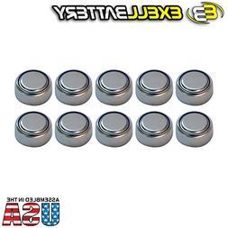 10pc Exell S76PX 1.55V Silver Oxide Battery 303 357 SR44 V35