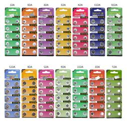 10PC/Pack AG0/1/2/3/4/5/6/7/8/9/10/11/12/AG13 Alkaline Watch
