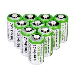 10x Garberiel Lithium CR2 batteries 3V CR17355 DLCR2 EL1CR2