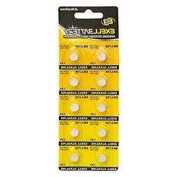 10pk Exell EB-L736 Alkaline 1.5V Watch Battery Replaces AG3