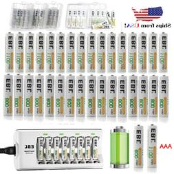 EBL 1100mah 800mah AAA Ni-MH Rechargeable Batteries / Charge
