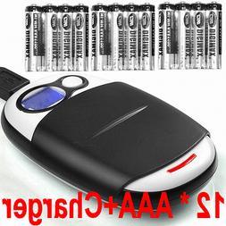 12 AAA NiMH 1100mah Batteries+Extreme  AA/AAA LCD 1-Hour Cha