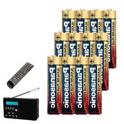 12 Pack AAA Batteries Alkaline Plus Power Triple A Battery 1