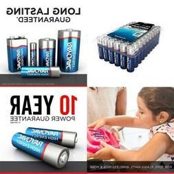 12-Pack RAYOVAC D HIGH ENERGY Alkaline Batteries. EXP 2028 o