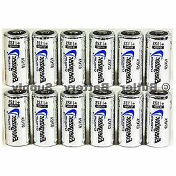 12 x CR123 Energizer 3V Lithium Batteries