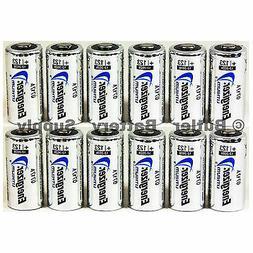 12 x CR123 Energizer 3V Lithium Batteries