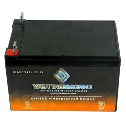 12V 12AH Rechargeable Sealed Lead Acid Battery - T3 Nut and