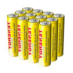 12pcs Solla AA 1000mAh 1.2V NiMH Rechargeable Batteries for