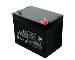 AJC 12V 75Ah Sealed Lead Acid - AGM - VRLA Battery