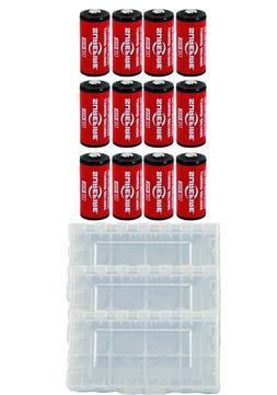 12x Surefire CR123A Lithium Batteries 3v EXP. 11/2027 *MADE