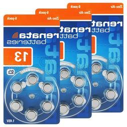 Renata 13 Size Hearing aid batteries Zinc air 1.45V PR48 0%
