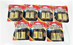 14 Eveready Gold Alkaline C2 Batteries Packages are Distress