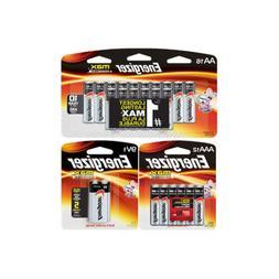16 AA + 12 AAA + 1 9 Volt Energizer MAX Alkaline Battery Com