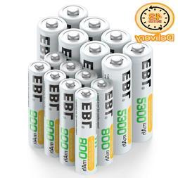 Ebl 16 Sets Aa Aaa Batteries Combo With 8Pcs Aa 2300Mah  8-P