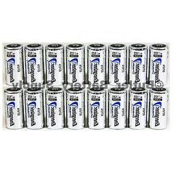 16 x CR123 Energizer 3V Lithium Batteries