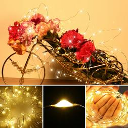 6x 20 LED Fairy String Lights Starry Rope Copper Wire Lights