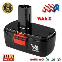 19.2V Ni-cd Battery for Craftsman C3 11375 11374 130279005 C