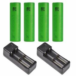 2/4X SONY US18650VTC5 2600mAh 30A Rechargeable Li-ion Batter