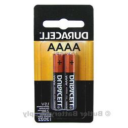 2 Duracell AAAA Alkaline Batteries