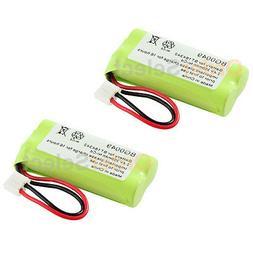 2 Home Phone Battery for AT&T Lucent BT-6010 BT-8000 BT-8001