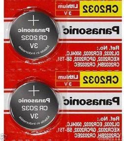 2 x SUPER FRESH Panasonic ECR2032 CR2032 Lithium Battery 3V