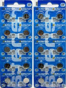 20 Renata 395 0% MERCURY Batteries