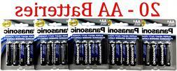20 Wholesale Panasonic AA Double A Batteries heavy Duty Batt