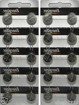 20 Energizer LR44 A76 AG13 L1154 Alkaline Watch and Calculat