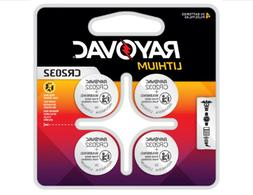 Rayovac 2032 CR2032 DL2032 Lithium Battery Batteries ~4 Pack