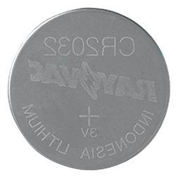 Rayovac 2032 Lithium Keyless Entry Battery, KECR2032-1