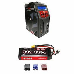 Venom 20C 3S 5400mAh 11.1V LiPo Battery and Pro Duo Charger