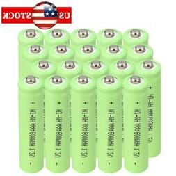 20pcs Triple A 1.2V NiMH 600mAh AAA Rechargeable Battery For