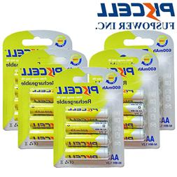 20x Double A 600mAh 1.2V AA 2A NiMH Rechargeable Battery For