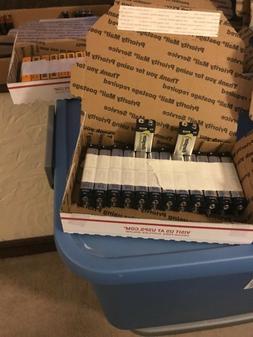 24 Energizer Industrial 9V batteries - expiration 2023